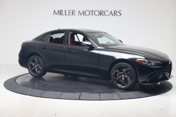 New 2021 Alfa Romeo Giulia Ti Sport Q4 for sale $56,300 at Bugatti of Greenwich in Greenwich CT 06830 10