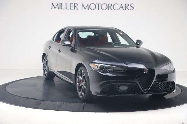 New 2021 Alfa Romeo Giulia Ti Sport Q4 for sale $56,300 at Bugatti of Greenwich in Greenwich CT 06830 11