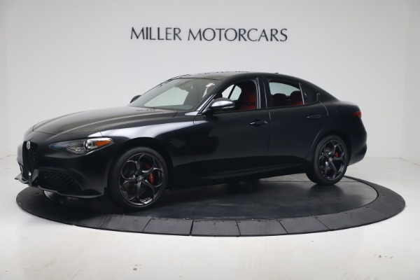 New 2021 Alfa Romeo Giulia Ti Sport Q4 for sale $56,300 at Bugatti of Greenwich in Greenwich CT 06830 2