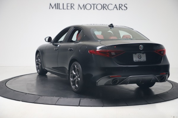 New 2021 Alfa Romeo Giulia Ti Sport Q4 for sale $56,300 at Bugatti of Greenwich in Greenwich CT 06830 5