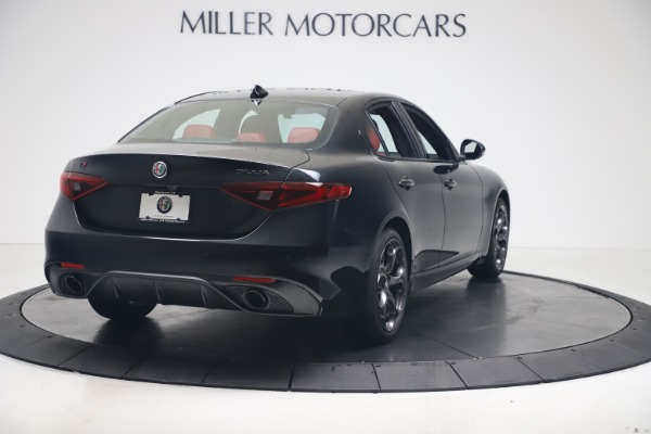 New 2021 Alfa Romeo Giulia Ti Sport Q4 for sale $56,300 at Bugatti of Greenwich in Greenwich CT 06830 7
