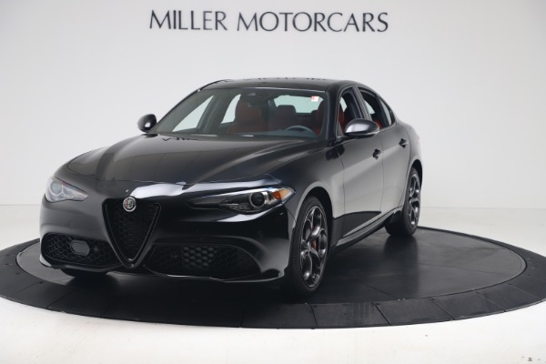New 2021 Alfa Romeo Giulia Ti Sport Q4 for sale $56,300 at Bugatti of Greenwich in Greenwich CT 06830 1