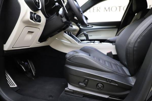 New 2021 Alfa Romeo Stelvio Ti Sport Q4 for sale Sold at Bugatti of Greenwich in Greenwich CT 06830 14