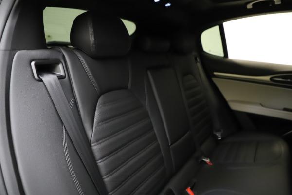 New 2021 Alfa Romeo Stelvio Ti Sport Q4 for sale Sold at Bugatti of Greenwich in Greenwich CT 06830 26