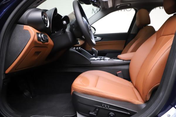 New 2021 Alfa Romeo Giulia Ti Q4 for sale $51,100 at Bugatti of Greenwich in Greenwich CT 06830 14