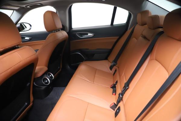 New 2021 Alfa Romeo Giulia Ti Q4 for sale $51,100 at Bugatti of Greenwich in Greenwich CT 06830 19
