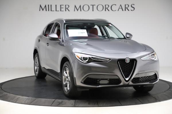 New 2021 Alfa Romeo Stelvio Q4 for sale $48,050 at Bugatti of Greenwich in Greenwich CT 06830 11