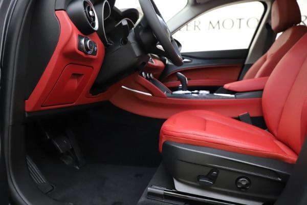 New 2021 Alfa Romeo Stelvio Q4 for sale $48,050 at Bugatti of Greenwich in Greenwich CT 06830 14