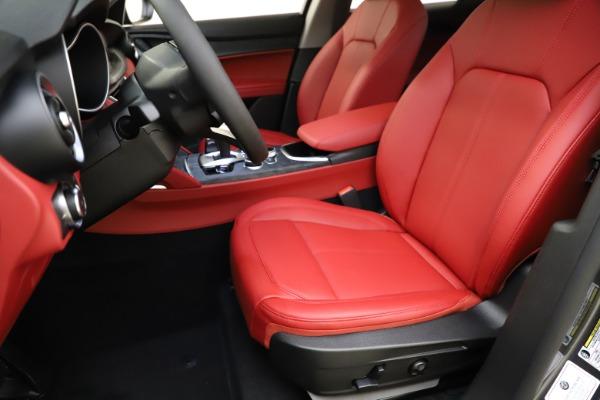 New 2021 Alfa Romeo Stelvio Q4 for sale $48,050 at Bugatti of Greenwich in Greenwich CT 06830 15