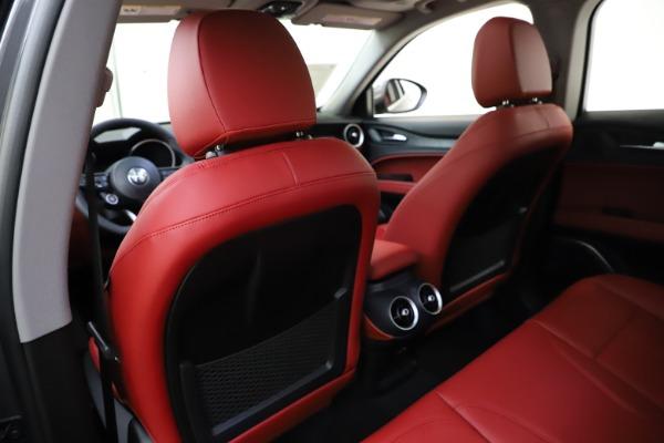 New 2021 Alfa Romeo Stelvio Q4 for sale $48,050 at Bugatti of Greenwich in Greenwich CT 06830 20