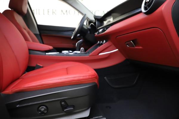 New 2021 Alfa Romeo Stelvio Q4 for sale $48,050 at Bugatti of Greenwich in Greenwich CT 06830 23
