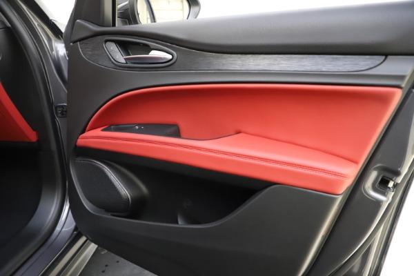New 2021 Alfa Romeo Stelvio Q4 for sale $48,050 at Bugatti of Greenwich in Greenwich CT 06830 25