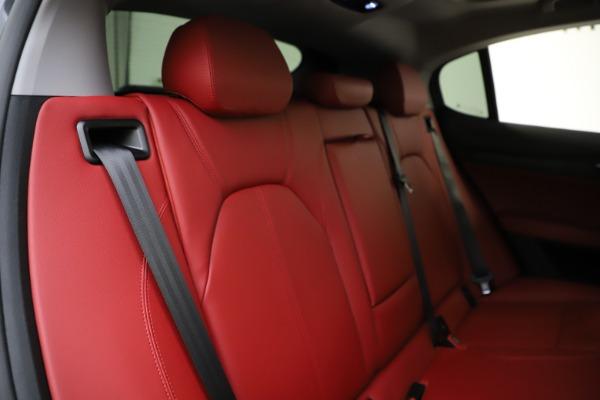 New 2021 Alfa Romeo Stelvio Q4 for sale $48,050 at Bugatti of Greenwich in Greenwich CT 06830 26