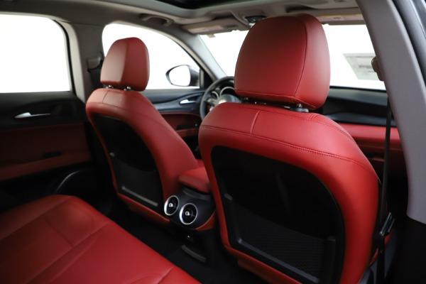 New 2021 Alfa Romeo Stelvio Q4 for sale $48,050 at Bugatti of Greenwich in Greenwich CT 06830 28