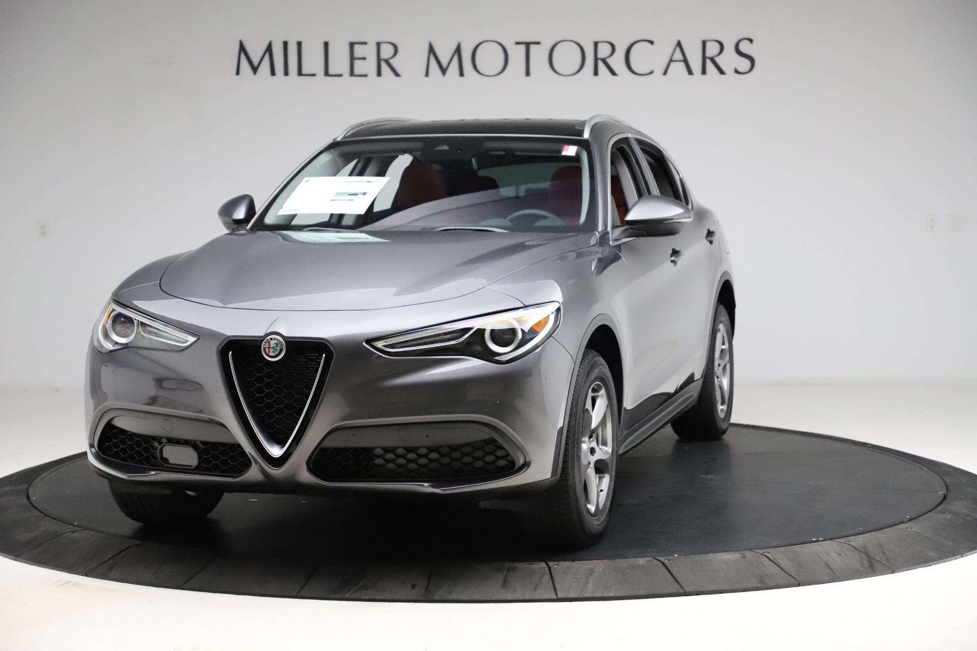 New 2021 Alfa Romeo Stelvio Q4 for sale $48,050 at Bugatti of Greenwich in Greenwich CT 06830 1
