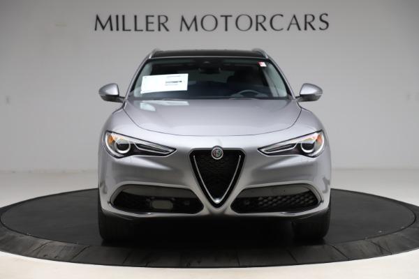 New 2021 Alfa Romeo Stelvio Ti Q4 for sale $55,900 at Bugatti of Greenwich in Greenwich CT 06830 12