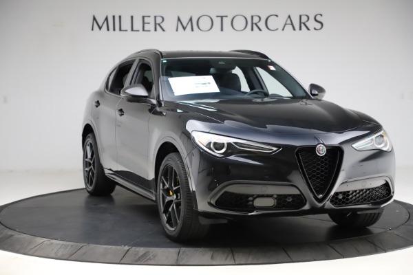 New 2021 Alfa Romeo Stelvio Ti Sport Q4 for sale $56,450 at Bugatti of Greenwich in Greenwich CT 06830 11
