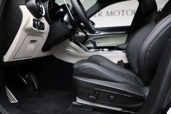 New 2021 Alfa Romeo Stelvio Ti Sport Q4 for sale $56,450 at Bugatti of Greenwich in Greenwich CT 06830 14