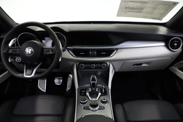 New 2021 Alfa Romeo Stelvio Ti Sport Q4 for sale $56,450 at Bugatti of Greenwich in Greenwich CT 06830 16