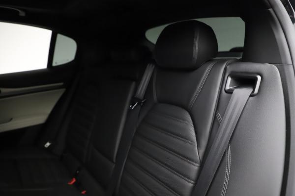 New 2021 Alfa Romeo Stelvio Ti Sport Q4 for sale $56,450 at Bugatti of Greenwich in Greenwich CT 06830 18