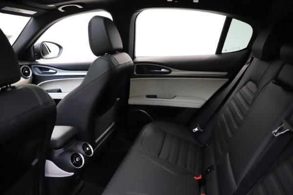 New 2021 Alfa Romeo Stelvio Ti Sport Q4 for sale $56,450 at Bugatti of Greenwich in Greenwich CT 06830 19