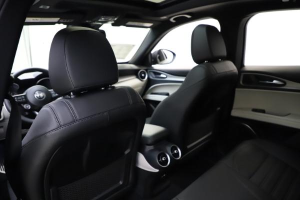 New 2021 Alfa Romeo Stelvio Ti Sport Q4 for sale $56,450 at Bugatti of Greenwich in Greenwich CT 06830 20