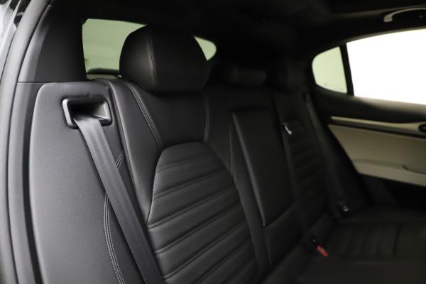 New 2021 Alfa Romeo Stelvio Ti Sport Q4 for sale $56,450 at Bugatti of Greenwich in Greenwich CT 06830 26