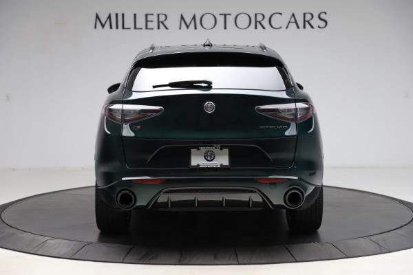 New 2021 Alfa Romeo Stelvio Ti Sport Q4 for sale $56,450 at Bugatti of Greenwich in Greenwich CT 06830 6