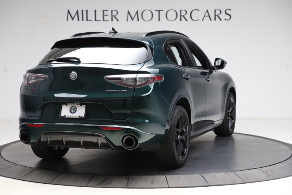 New 2021 Alfa Romeo Stelvio Ti Sport Q4 for sale $56,450 at Bugatti of Greenwich in Greenwich CT 06830 7