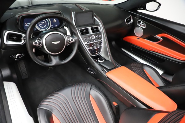 Used 2019 Aston Martin DB11 Volante for sale $204,900 at Bugatti of Greenwich in Greenwich CT 06830 13
