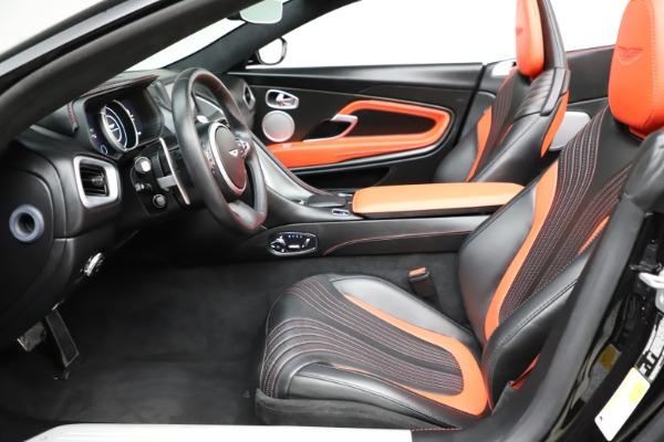 Used 2019 Aston Martin DB11 Volante for sale $204,900 at Bugatti of Greenwich in Greenwich CT 06830 14
