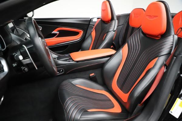 Used 2019 Aston Martin DB11 Volante for sale $204,900 at Bugatti of Greenwich in Greenwich CT 06830 15