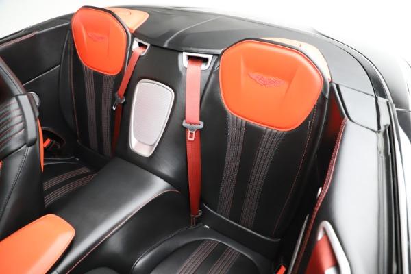 Used 2019 Aston Martin DB11 Volante for sale $204,900 at Bugatti of Greenwich in Greenwich CT 06830 18