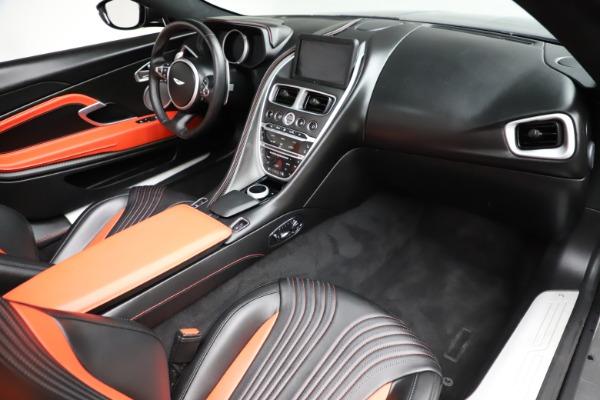 Used 2019 Aston Martin DB11 Volante for sale Sold at Bugatti of Greenwich in Greenwich CT 06830 20