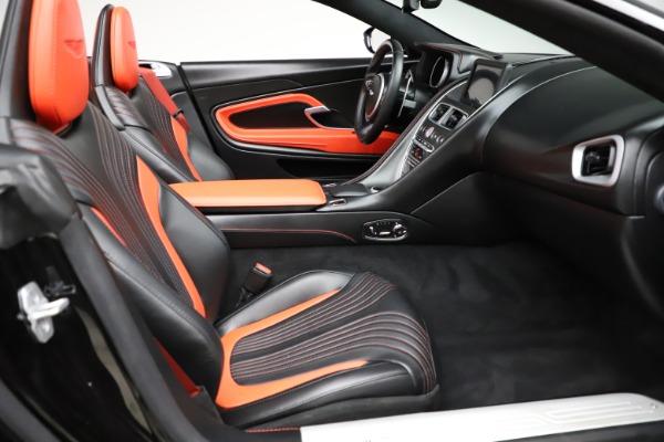 Used 2019 Aston Martin DB11 Volante for sale $204,900 at Bugatti of Greenwich in Greenwich CT 06830 21
