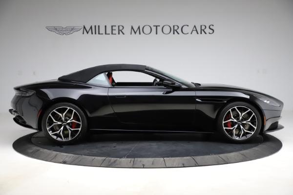 Used 2019 Aston Martin DB11 Volante for sale $204,900 at Bugatti of Greenwich in Greenwich CT 06830 27