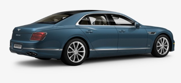 New 2021 Bentley Flying Spur V8 for sale $226,725 at Bugatti of Greenwich in Greenwich CT 06830 3