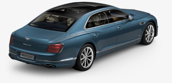 New 2021 Bentley Flying Spur V8 for sale $226,725 at Bugatti of Greenwich in Greenwich CT 06830 4