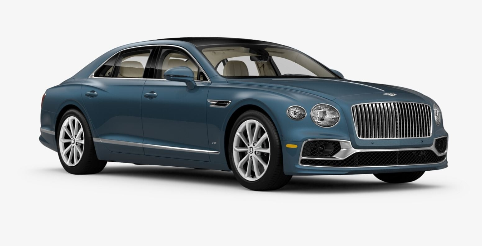 New 2021 Bentley Flying Spur V8 for sale $226,725 at Bugatti of Greenwich in Greenwich CT 06830 1