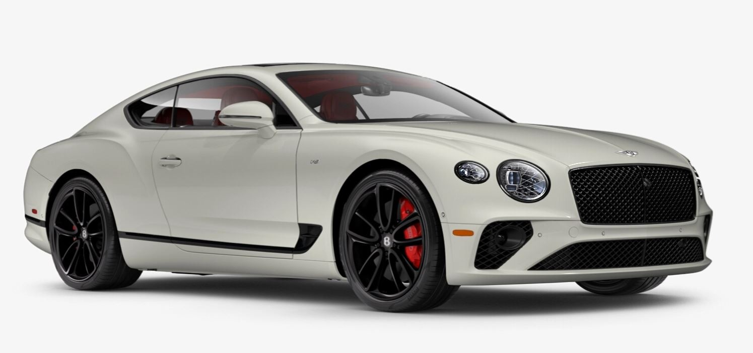 New 2021 Bentley Continental GT V8 for sale $270,170 at Bugatti of Greenwich in Greenwich CT 06830 1