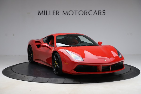 Used 2018 Ferrari 488 GTB for sale $209,900 at Bugatti of Greenwich in Greenwich CT 06830 11