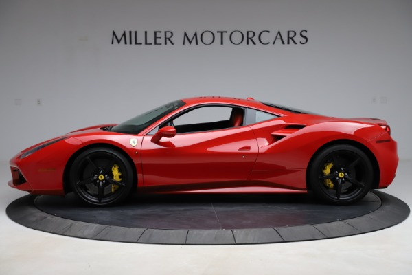 Used 2018 Ferrari 488 GTB for sale $209,900 at Bugatti of Greenwich in Greenwich CT 06830 3