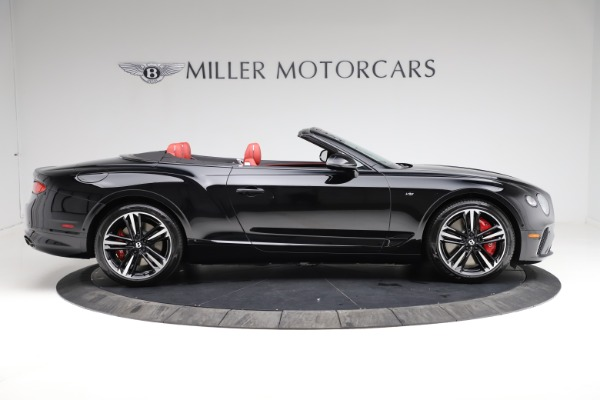 New 2021 Bentley Continental GT V8 for sale $263,905 at Bugatti of Greenwich in Greenwich CT 06830 8