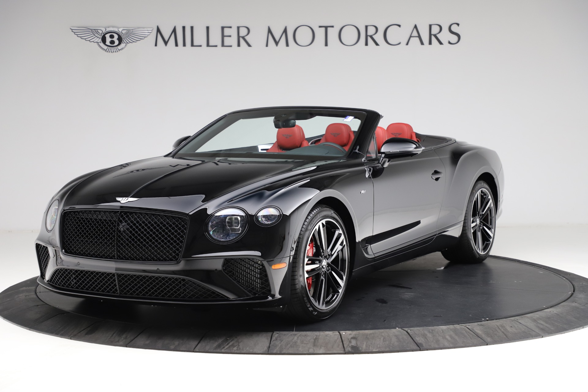 New 2021 Bentley Continental GT V8 for sale $263,905 at Bugatti of Greenwich in Greenwich CT 06830 1