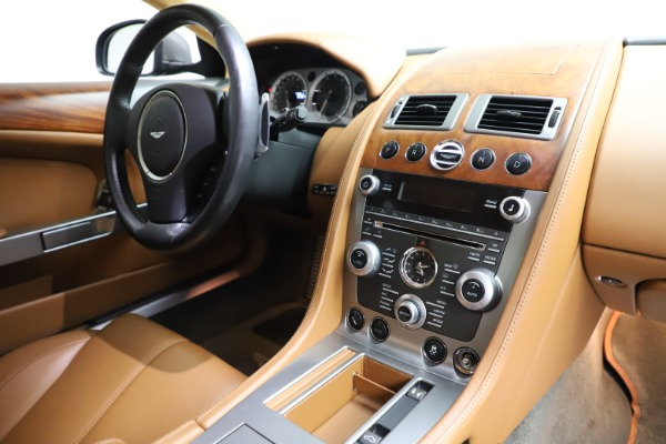 Used 2012 Aston Martin DB9 for sale Call for price at Bugatti of Greenwich in Greenwich CT 06830 18
