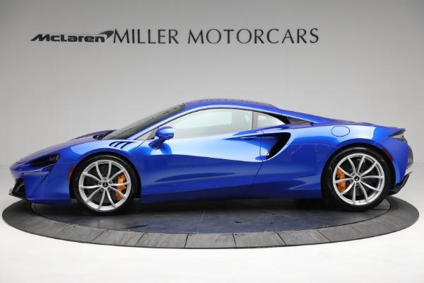 New 2021 McLaren Artura for sale Call for price at Bugatti of Greenwich in Greenwich CT 06830 2