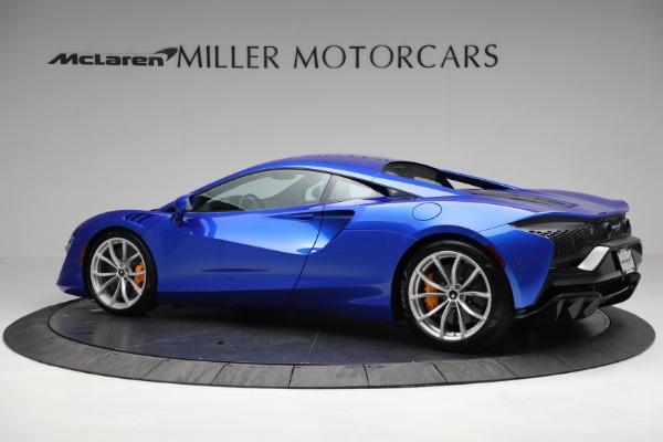 New 2021 McLaren Artura for sale Call for price at Bugatti of Greenwich in Greenwich CT 06830 3