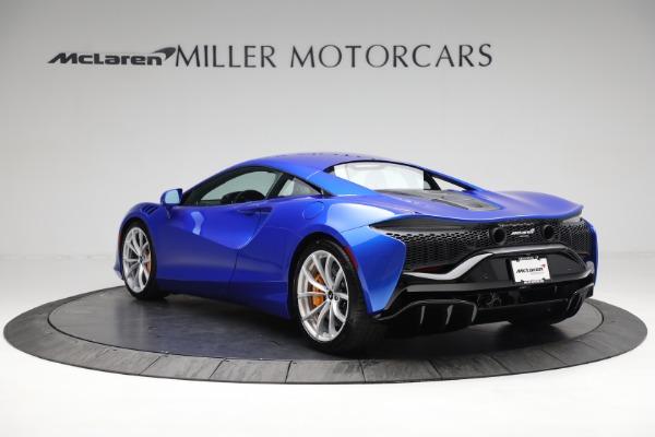 New 2021 McLaren Artura for sale Call for price at Bugatti of Greenwich in Greenwich CT 06830 4