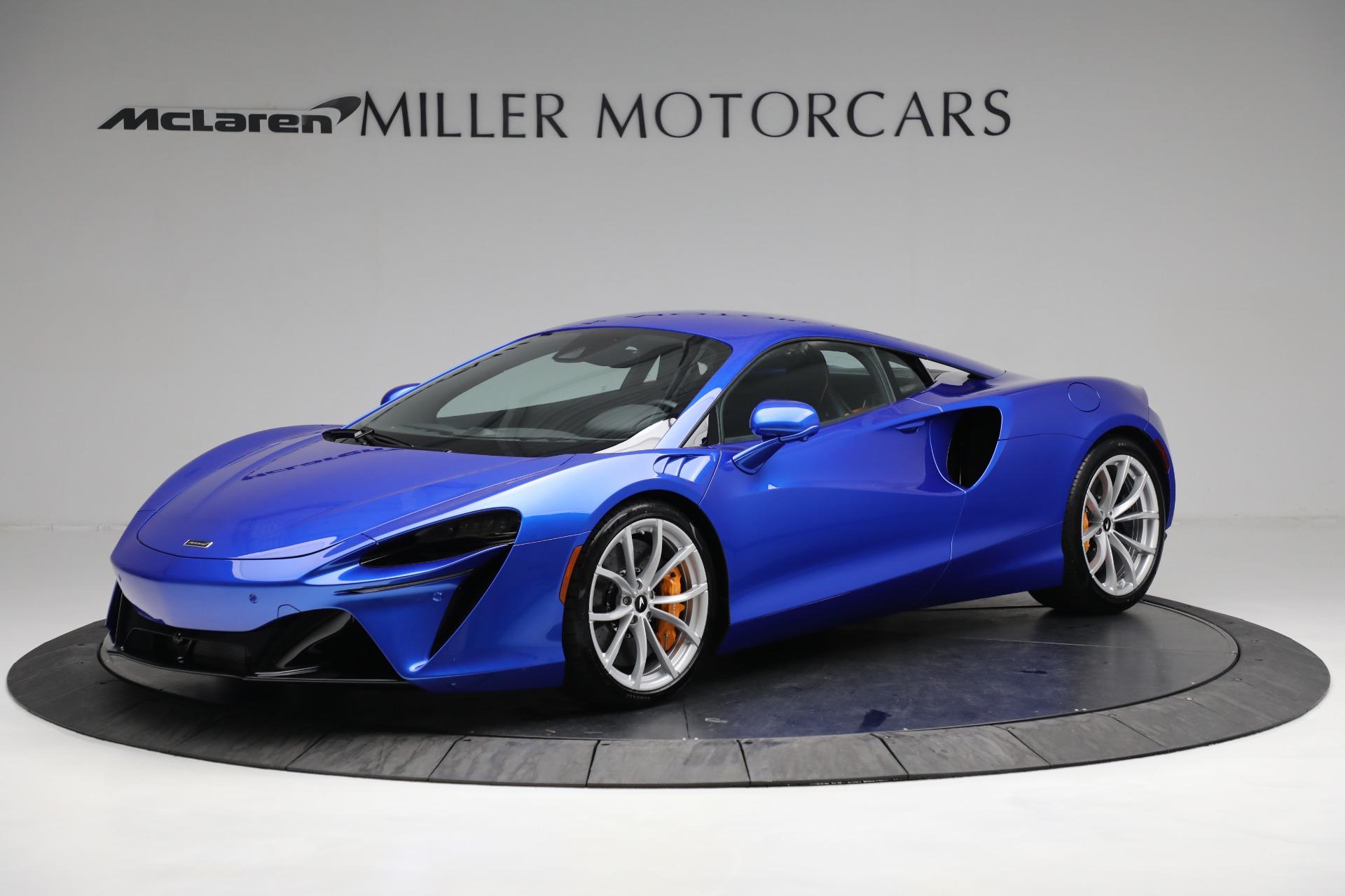 New 2021 McLaren Artura for sale Call for price at Bugatti of Greenwich in Greenwich CT 06830 1