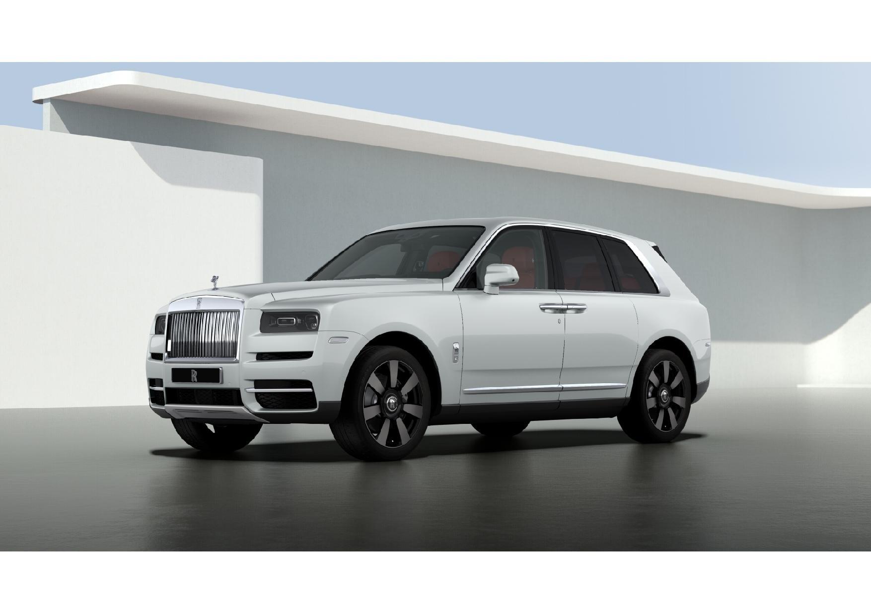 New 2021 Rolls-Royce Cullinan for sale $391,375 at Bugatti of Greenwich in Greenwich CT 06830 1